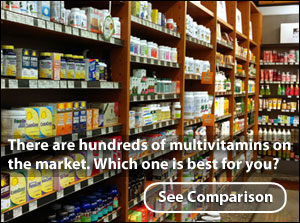 Compare the best multivitamins