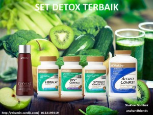 Promosi Set Detoks April 2016