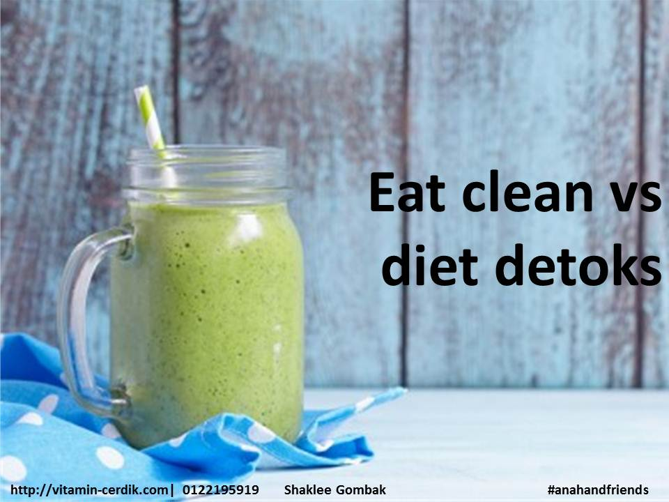 eat clean vs diet detoks