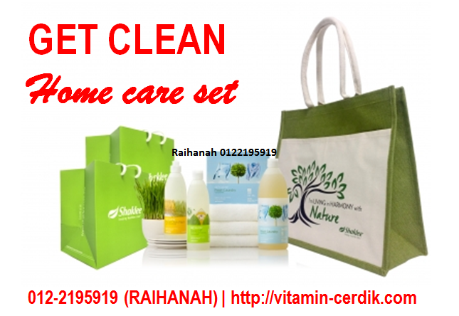Get Clean home care set