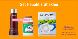 Set hepatitis Shaklee