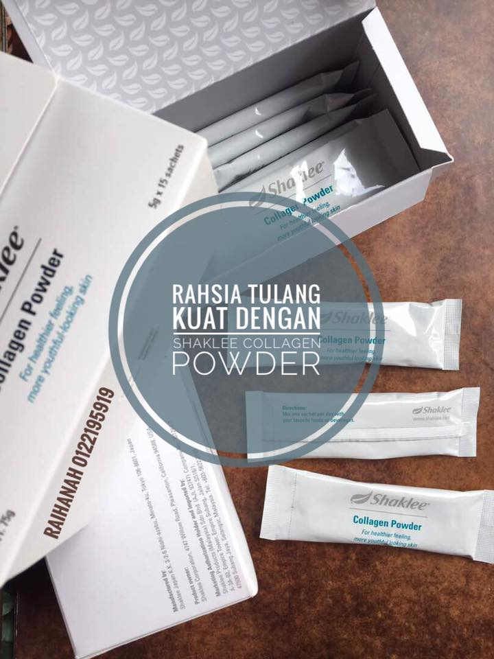 Tulang kuat dengan Shaklee Collagen Powder
