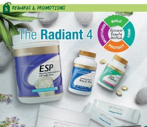 september promo shaklee radiant 4