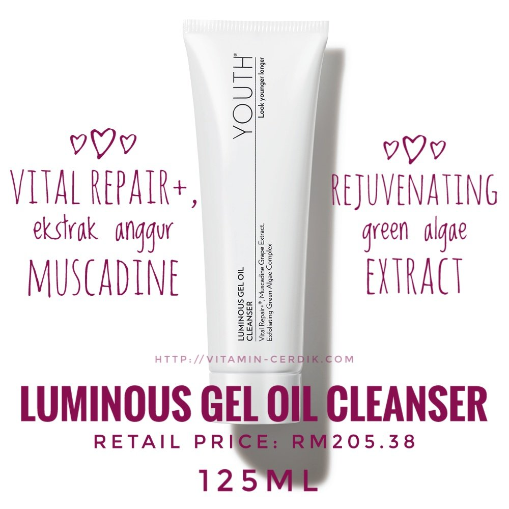 Luminuois oil gel cleanser
