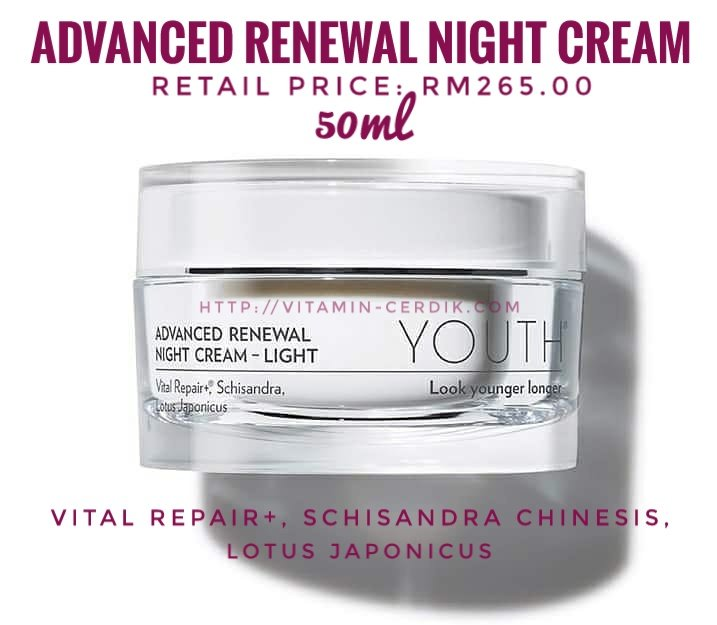 Advanced renewal night cream - light