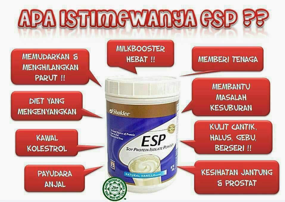 ESP kaya dengan protein untuk memberikan tenaga kepada pesakit