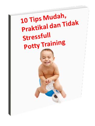 10 Tips Mudah, Praktikal dan Tidak Stressful Potty Training