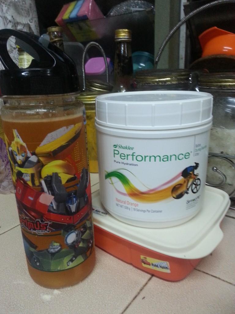 Performance Drink Air bekal anak-anak
