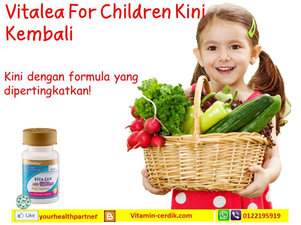 Vitalea For Children Multivitamin Untuk Kanak-kanak