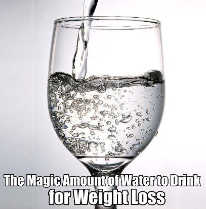 Minum Air Untuk Penurunan Berat Badan
