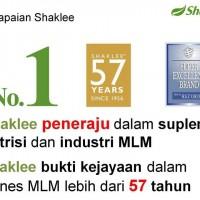 Shaklee merupakan peneraju suplemen dan bukti kejayaan MLM lebih 57 tahun