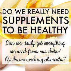 Kenapa perlukan suplemen untuk kesihatan?