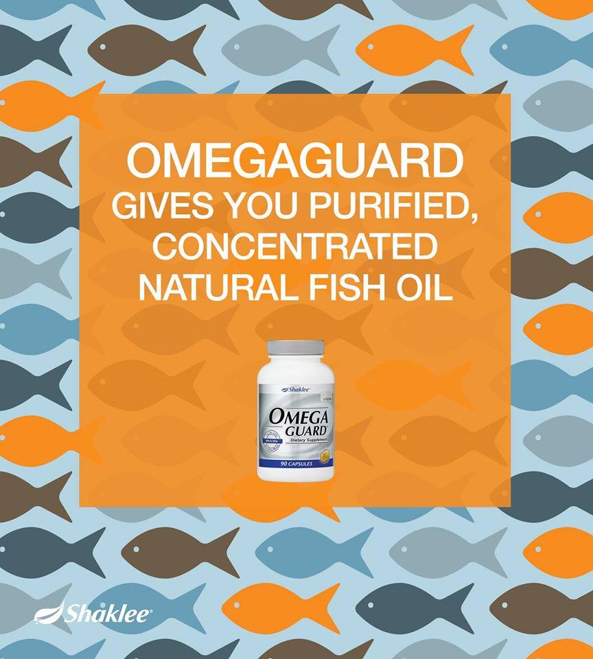 Omega Guard Memberikan khasiat minyak ikan tulen dan semulajadi