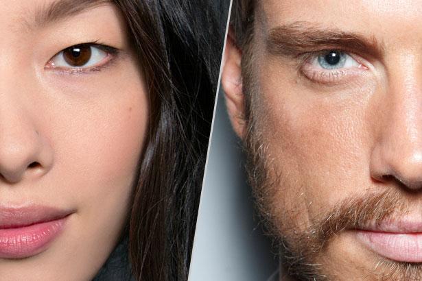 Kulit lelaki vs kulit wanita