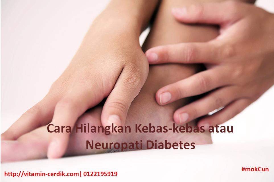 Cara Hilangkan Kebas-kebas atau Neuropati Diabetes