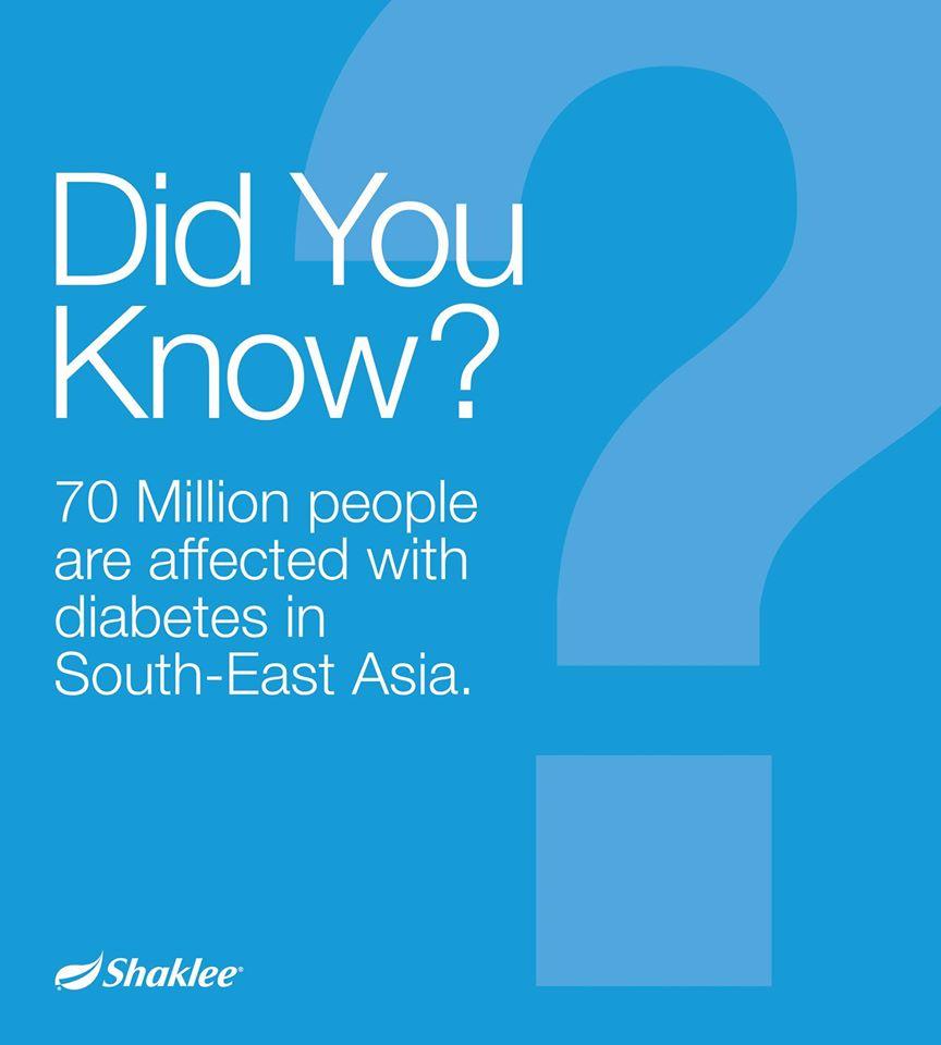 Rakyat Malaysia adalah penghidap diabetes paling ramai di Asia Tenggara