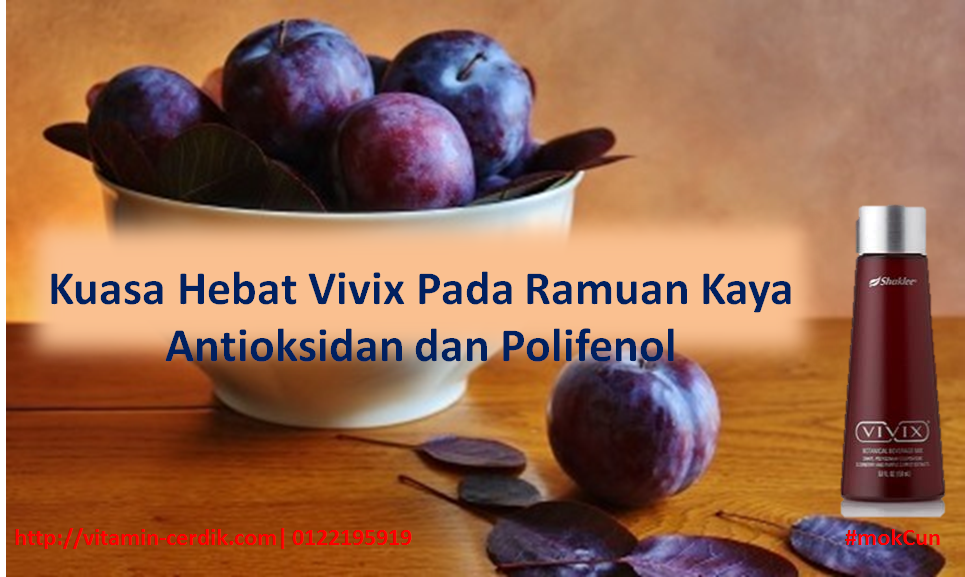 Vivix kaya antioksidan dan polifenol