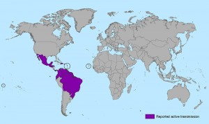 23 negara terancam dengan virus zika