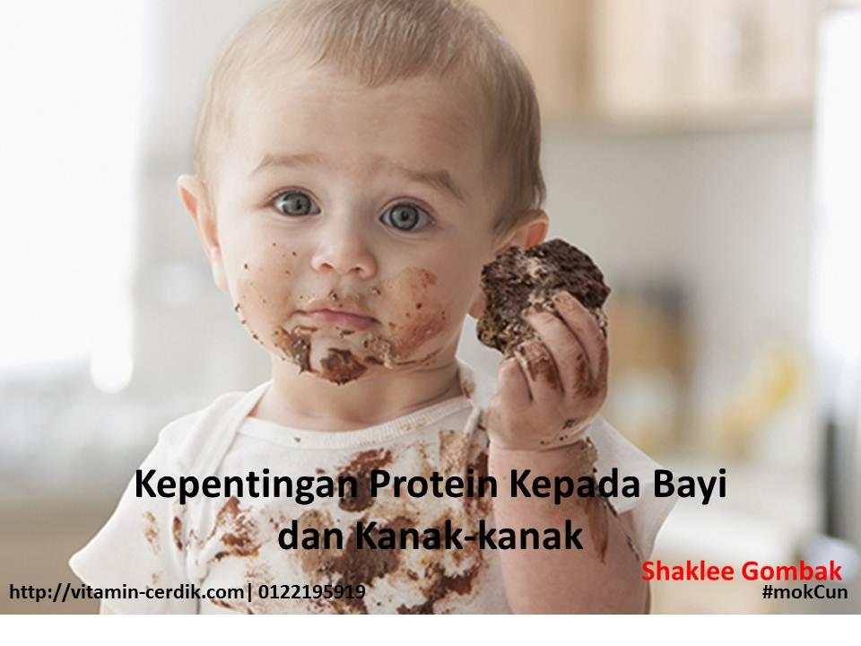 Kepentingan protein kepada bayi dan kanak-kanak
