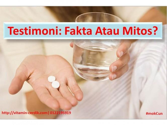 testimoni fakta atau mitos
