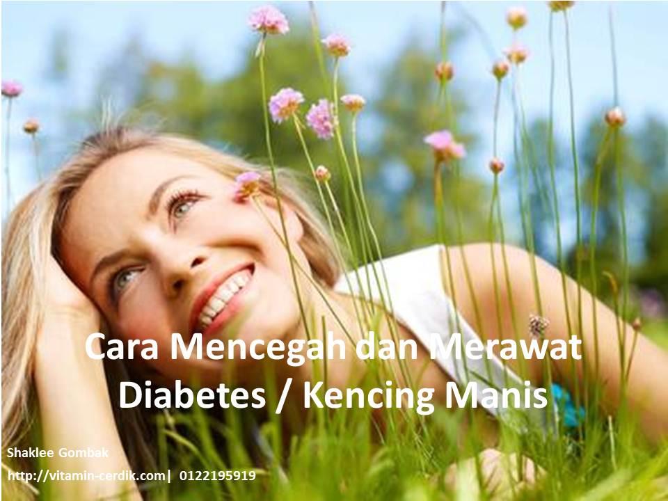 cara mencegah dan merawat diabetes