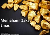 Memahami zakat emas dan perak