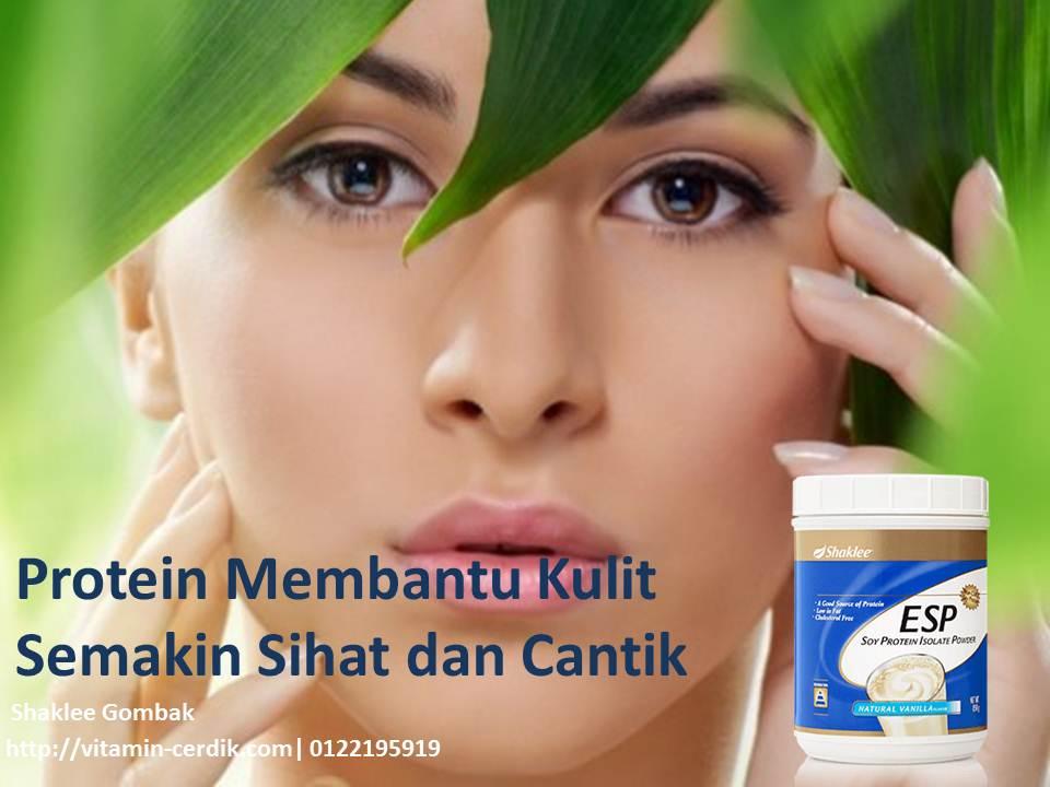 Untuk kulit yang cantik, pastikan anda mengambil sumber protein anda mencukupi setiap hari