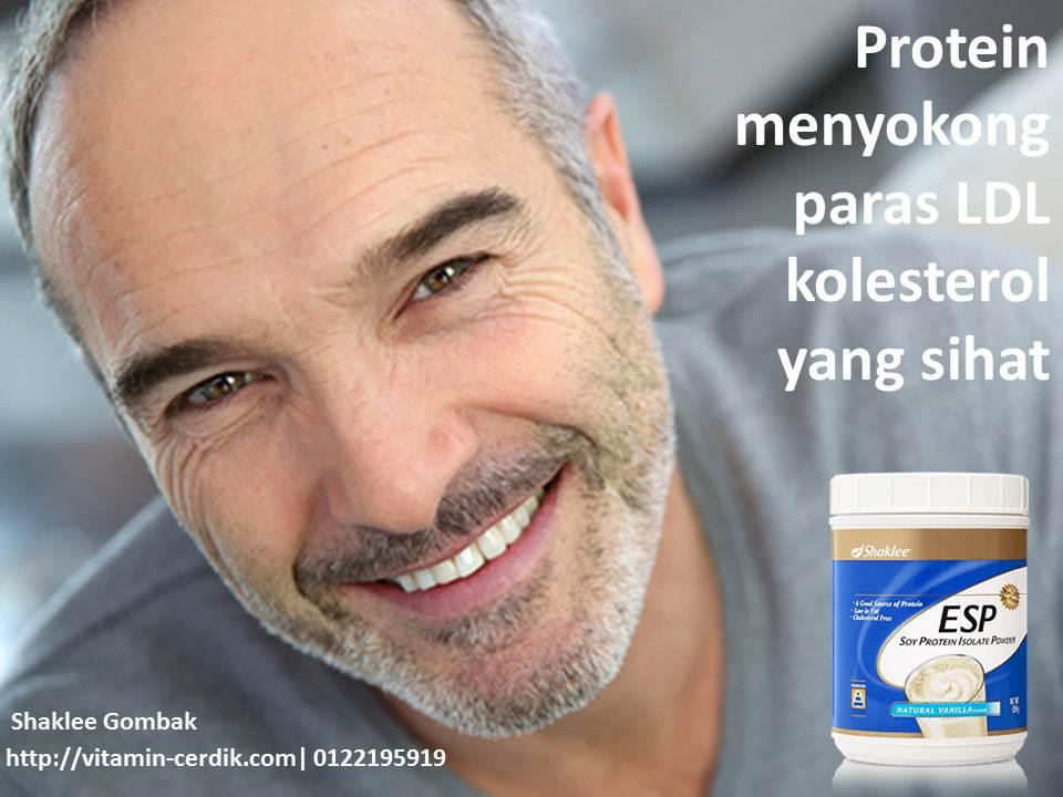 Protein membantu memelihara paras LDL kolestrol yang sihat