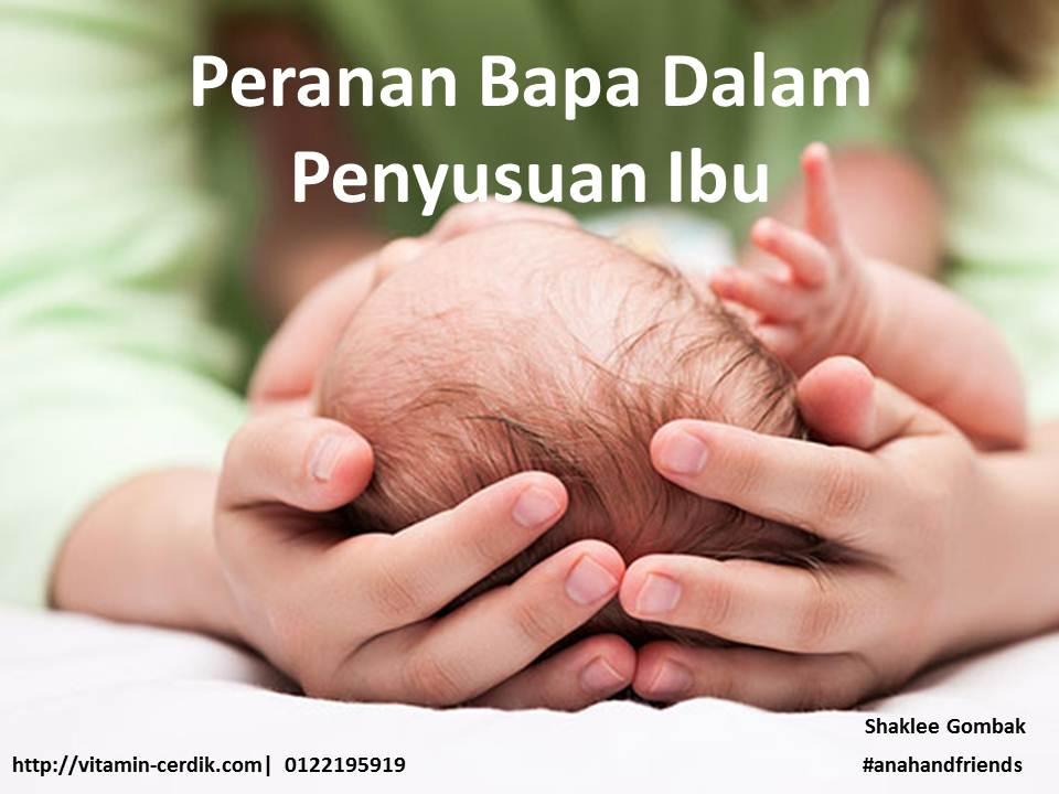 Peranan bapa dalam menjayakan penyusuan ibu