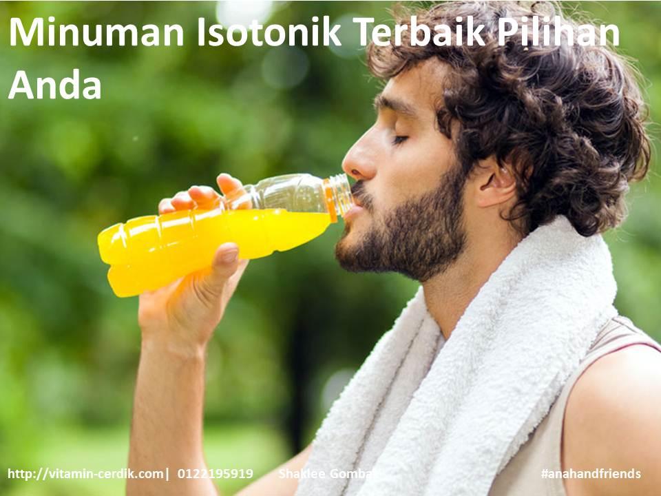 minuman isotonik pilihan terbaik