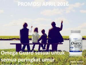 Omega Guard sesuai untuk semua peringkat umur dan kebanyakan penyakit