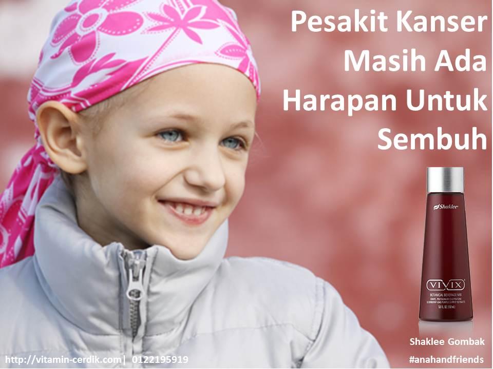 sembuh kanser dengan vivix