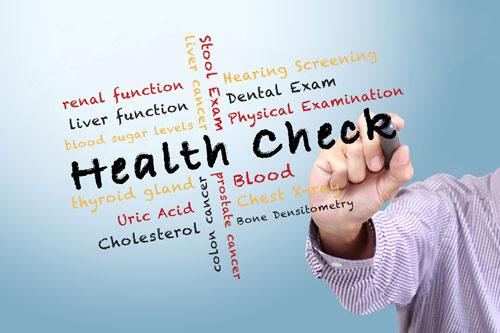Saringan kesihatan