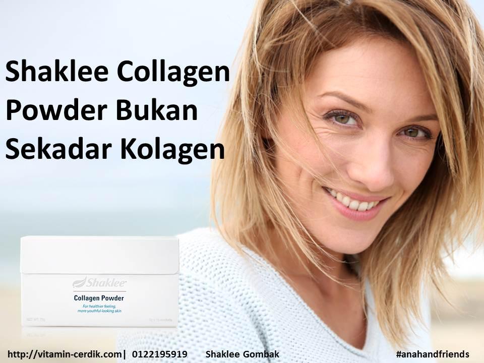 shaklee collagen powder bukan sekadar collagen