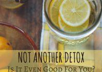 Jenis-jenis detox dan fungsinya kepada tubug