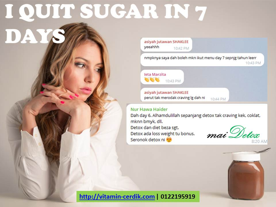 Hilangkan craving makanan manis dalam 7 hari