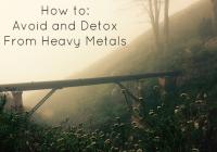 Detox membantu menyingkirkan toksin logam berat