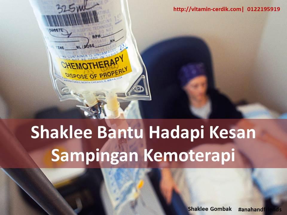 Shaklee Bantu Hadapi Kesan Sampingan Kemoterapi
