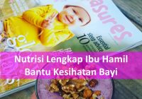 Nutrisi lengkap ibu hamil bantu kesihatan bayi