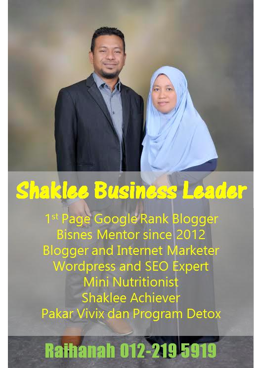 Raihanah Bisnes Leader Shaklee