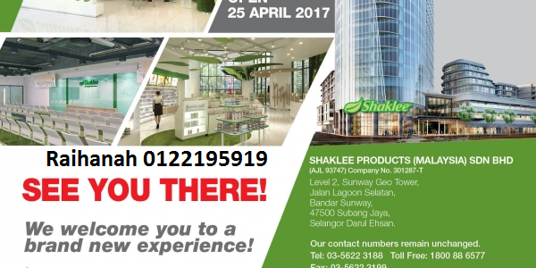 Shaklee home office Sunway Geo