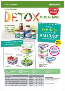 Promosi Julai 2017 - Set Detox