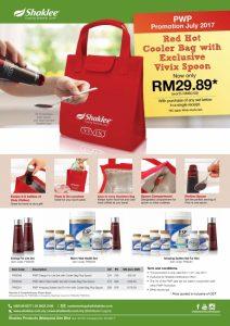 Beli 2 Vivix dan dapatkan cooler bag yang cantik