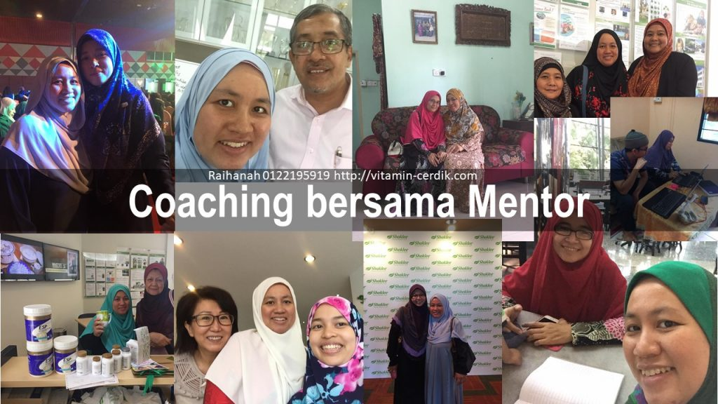 coaching bisnes shaklee mentor