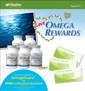 promo omega ogos 2017 shaklee