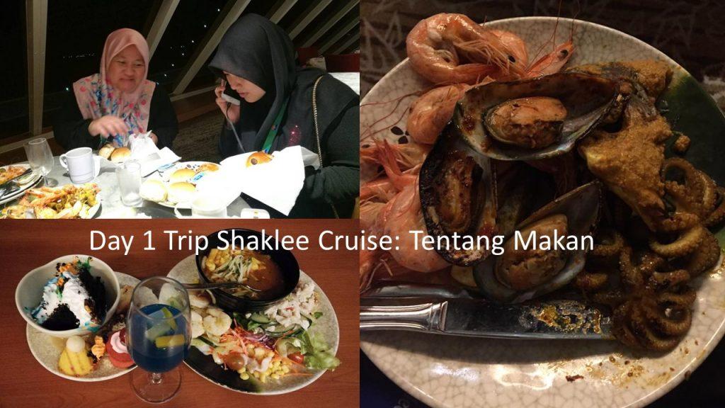 Tiap kali trip Shaklee, makanan mesti mewah. Mahal-mahal