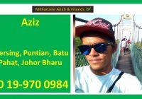 Pengedar Vivix Shaklee Johor Bharu, Batu Pahat, Pontian dan Mersing