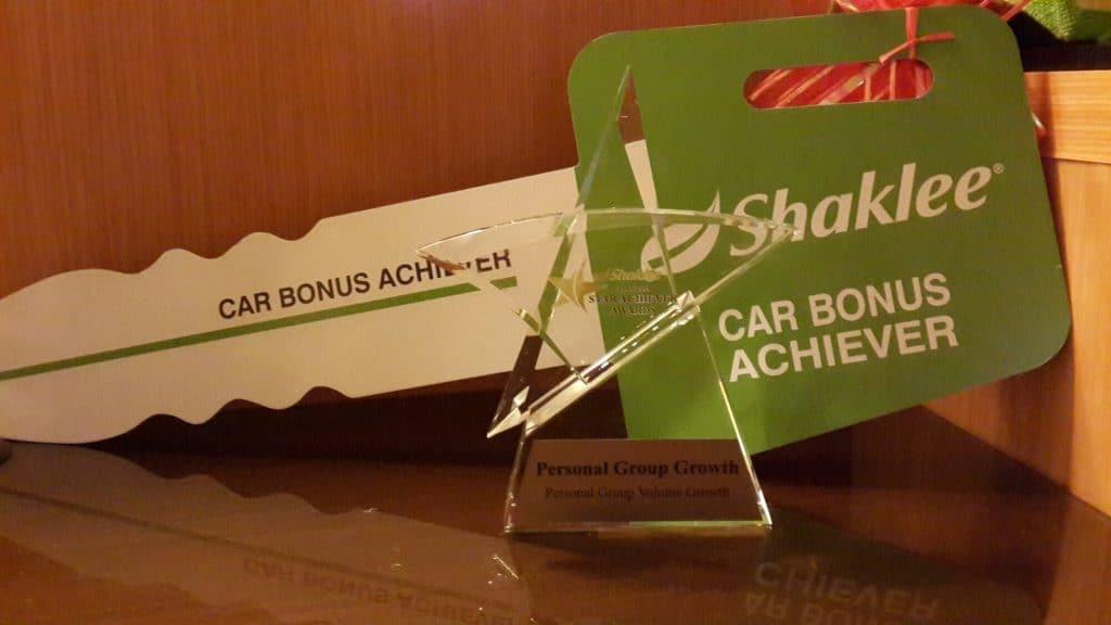 Alhamdulillah saya dah capai salah satu benefit dari Shaklee iaitu Car Bonus program