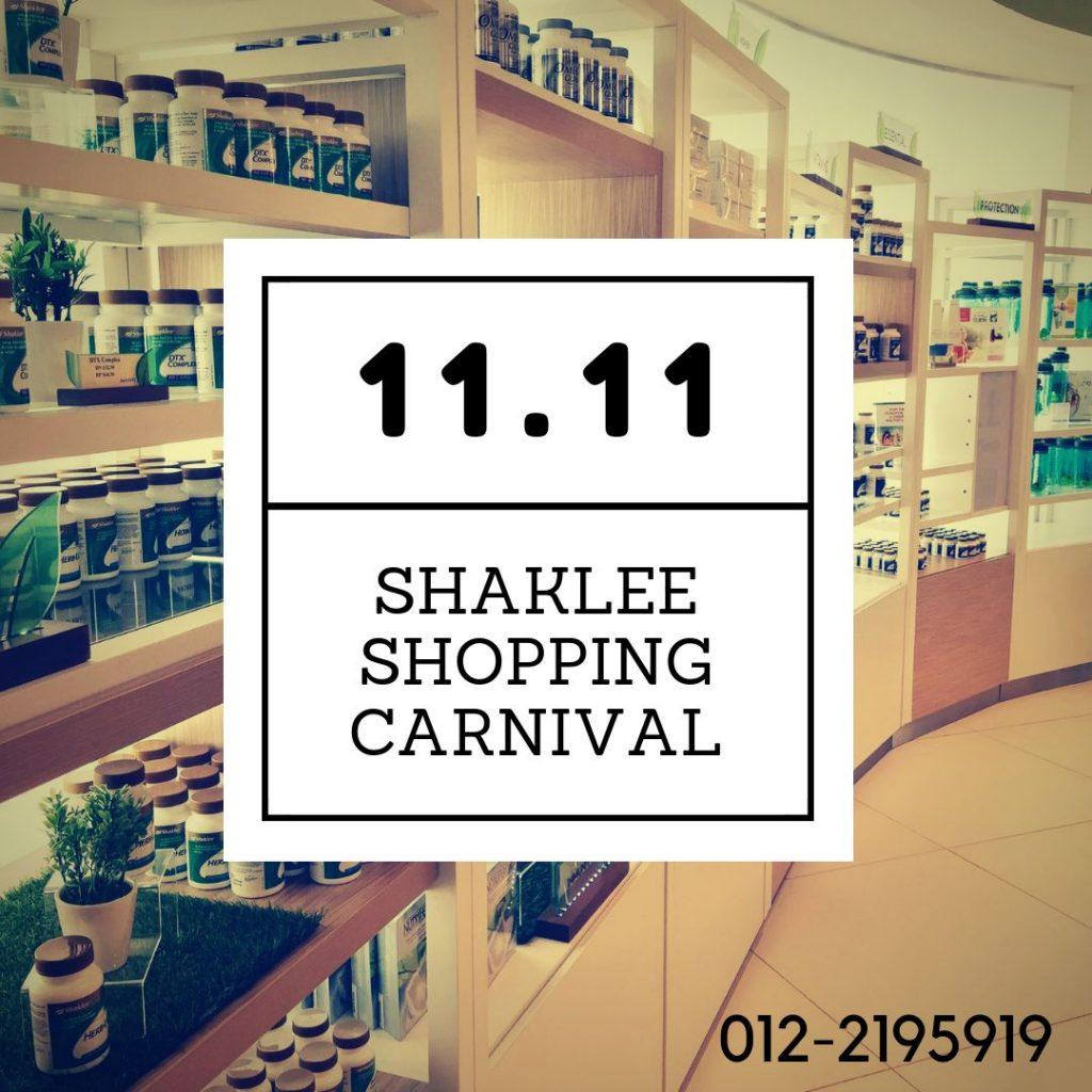 shaklee sale 11.11