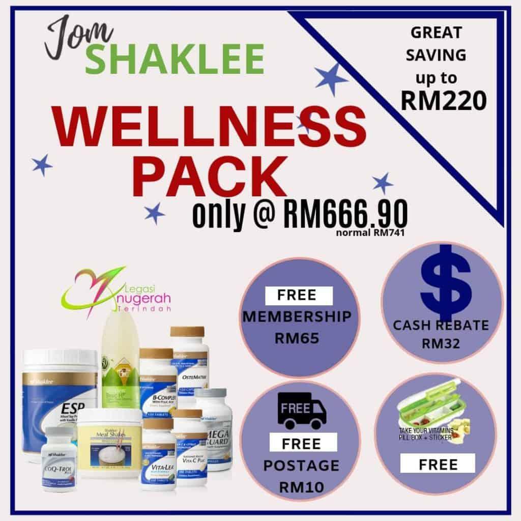 Promosi Keahlian Percuma Shaklee Dengan Set Wellness